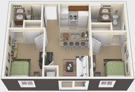 Two Bedroom Apartment Design Ideas Bedroom Awesome 2 Bedroom Apartment Floor Plan Room Ideas