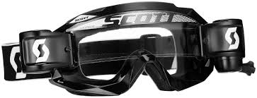 scott motocross goggles scott hustle wfs roll off black motocross mx goggles scott