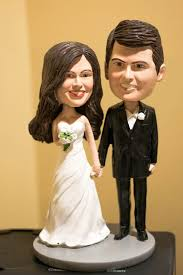 cake toppers bobblehead 105 best wedding cake toppers images on wedding cake