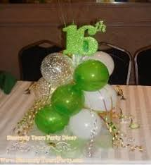 Centerpieces Sweet 16 by Balloon Centerpieces For Birthday Anniversary Sweet 16 Mitzvah