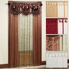 Priscilla Curtains With Attached Valance Priscilla Curtains With Attached Valance Lace Curtain Panels Cheap