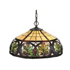 Stained Glass Pendant Light Pendants You Ll Wayfair