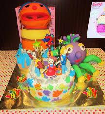Home May U0027de Cakes The Making Hi 5 Themed Cake