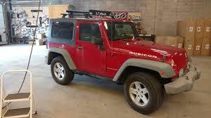 jeep wrangler 2 door hardtop black jeep wrangler jk hardtop 2dr rack installation photos