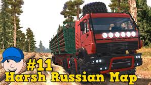Russian Map Ets2 Harsh Russian Map 11 Youtube