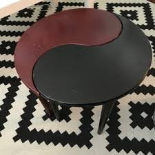 Yin Yang Table by Wooden Yin Yang Table For Sale In Hayward Ca 5miles Buy And Sell