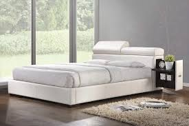 White King Platform Bed White Platform Bed Ac 420 Platform Beds
