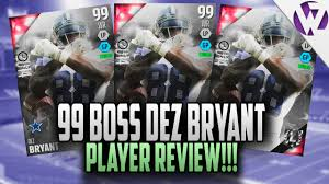 madden 16 ultimate boss dez bryant review 99 overall madden 16