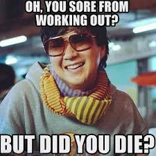 Personal Trainer Meme - a sore from workout quotes quotesgram mash the couch potato