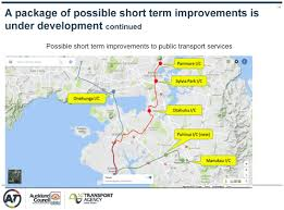 Map Walking Distance Nzta Support Light Rail To Airport Greater Auckland