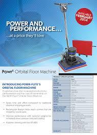 Pad Holder For Floor Buffer powr flite orbital floor buffer