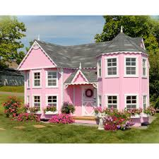 master kd has outdoor playhouse