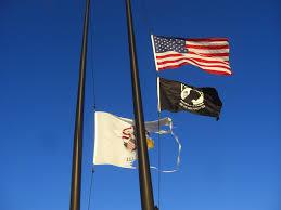 Federal Flag Half Mast Disgraceful Illinois Flag Flying Homestead Rest Area I 55 Northbound