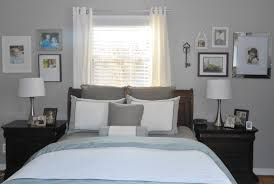 bedroom makeover with michaels framing and benjamin moore paint