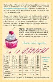 cake order cake menu sweetspot bakehouse