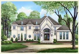 chateau style homes style house plans modern chateau home 13 feb traintoball