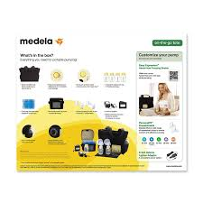 medela pump in style advanced breast pump with on the go tote by