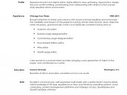 Sample Journalism Resume by 100 Copy Editing Resume 79 Amazing Copy Of Resume Examples