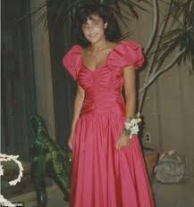 eighties prom dress bethenny frankel shows retro prom look in throwback 80s