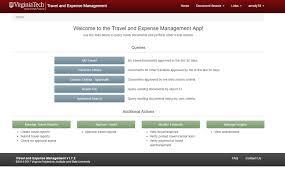 Vermont travel management company images Travel expense management tem application onecampus