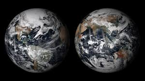 Color Of Earth by Noaa Environmental Visualization Laboratory Earth In True Color