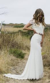 two piece beach wedding dress style the u201ccaterina u201d puts a modern