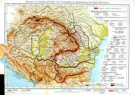 Map Of Romania In Europe by Geopolitical Vintage Printable At Swivelchair Media U2013 Beta