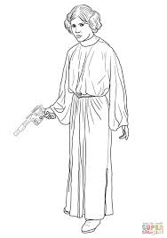 princess leia coloring free printable coloring pages