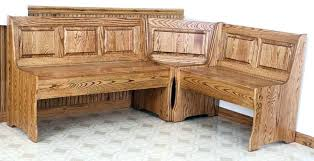 breakfast nook table with storage bench breakfast nook storage