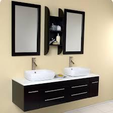 contemporary vessel sink vanity fresca stella 59 double bellezza modern vessel bathroom vanity set