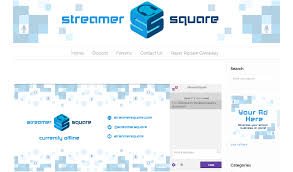 a stylesheet for embedding twitch streams streamersquare