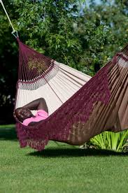 brazilian family hammock bossanova bordeaux