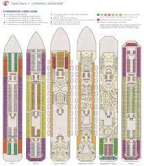 carnival sunshine deck plan