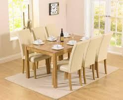 Best  Solid Oak Dining Table Ideas On Pinterest Oak Dining - Cream dining room sets