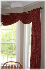 22 best swag window treatments images on pinterest bay windows