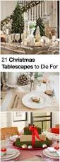 21 christmas table decorations and holiday settings to die for