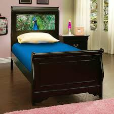 Black Sleigh Bed Beds Costco