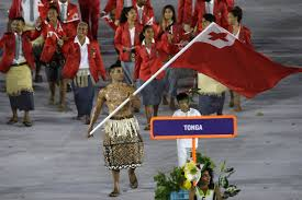 Flag With Four Red Stars Who Is Tonga U0027s Flag Bearer Wsj