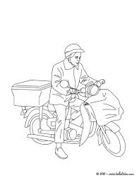 postman coloring pages hellokids com