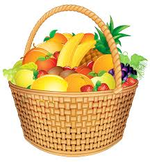 fruit basket fruit basket png vector clipart image gallery yopriceville