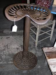tractor seat stools cast iron cabinet hardware room unique