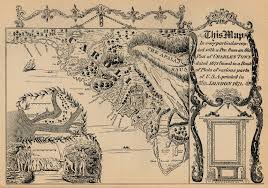 Paper Towns On Maps Historical Maps Of Charleston South Carolina