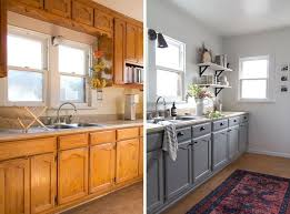 Upcycled Kitchen Cabinets Gorgeous Kitchen Refresh For Less Than 2k And In A Rental