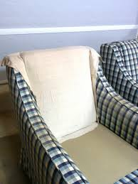 Sofa Slipcover T Cushion by How To Make Arm Chair Slipcovers For Less Than 30 How Tos Diy
