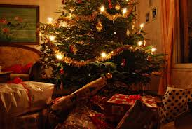 closeup of christmas tree u0026 gifts pictures photos and images for