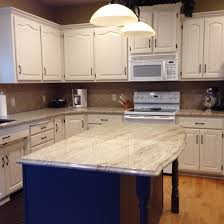 French Colonial Kitchen by Astoria Granite Pittsburg Paints Antique White Cabinets And