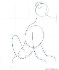 draw pluto dog step step drawing tutorials