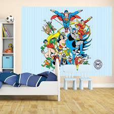 1 wall wallpaper mural superman batman justice league 1 58m x 2 32m 1 wall wallpaper mural superman batman justice league comic 1 58m x 2 32m