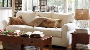 pottery barn sofa guide and ideas midcityeast natural oak coffee table and side table near white pottery barn sofa for traditional living room