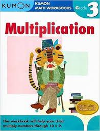 grade 3 multiplication kumon math workbooks kumon publishing